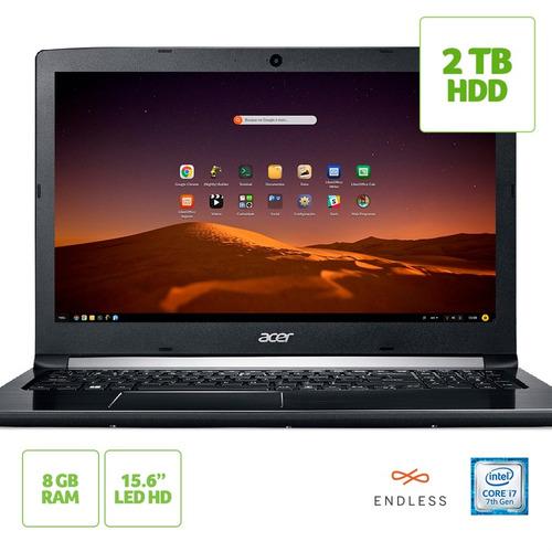 só hoje! notebook acer aspire 5 a515-51-74za intel® core i7-