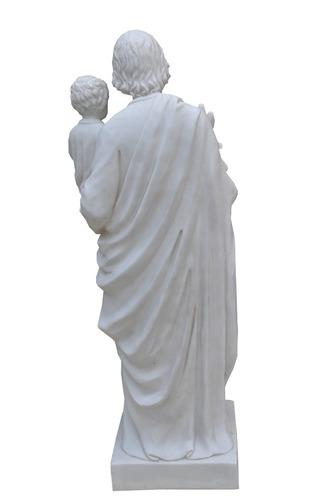 são josé 90 cm pó de mármore - iml168 imagem para túmulo