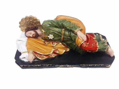 são jose dormindo imagem que o papa tem em seu quarto resina