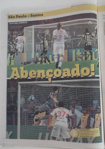são pauilo 4 x 3 santos brasileiro 2010 jornal lance