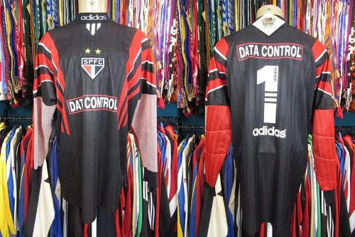 são paulo 1997 camisa goleiro tamanho gg número 1.