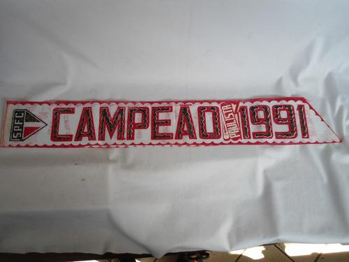 são paulo futebol clube = faixa  campeão paulista 1991