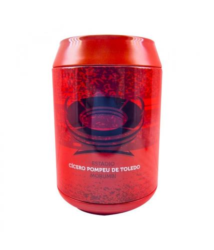 são paulo urso lata cofre futebol produto oficial presentes