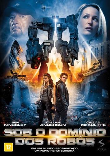 sob o domínio dos robôs - dvd