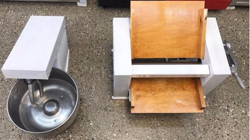 sobadora 450 mm + amasadora 20 kg industrial combo, oferta