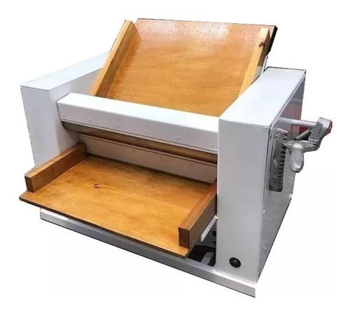 sobadora 450 mm + amasadora 20 kg industrial combo reforzado