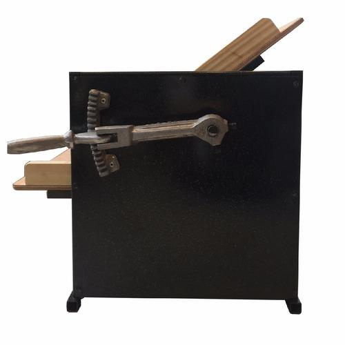 sobadora electrica de mesa 450 mm motor 1/2 hp geo bazar