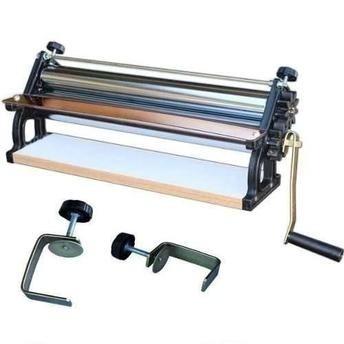 sobadora manual 40 cm engranaje aluminio malta para pasta