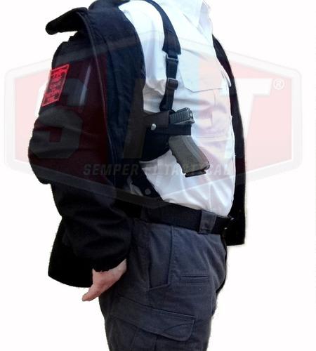 sobaquera horizontal negra de semper fi tactical®