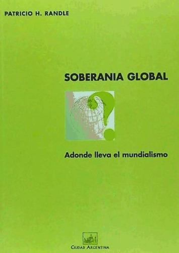 soberanía global(libro ciencias políticas)