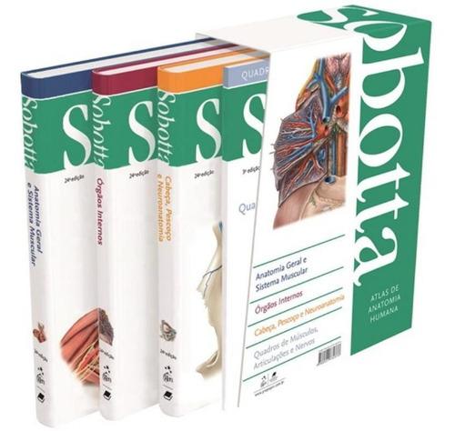 sobotta - atlas de anatomia humana - 3 vols. - 24ª ed