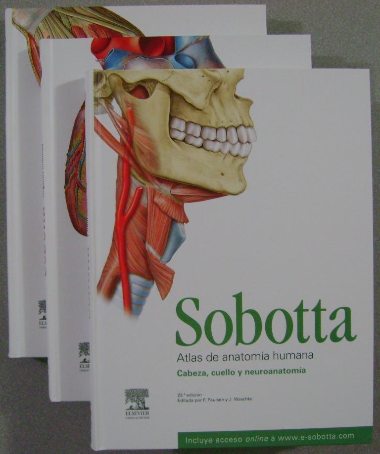 Sobotta. Atlas De Anatomía Humana 3t - P.friedrich - Elsevie ...