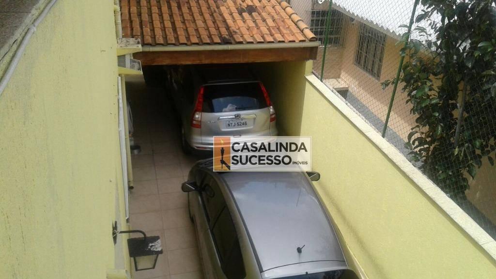 sobrado 136m² 3 dormts. 3 vagas próx. à rua elisa de carvalho - so0607 - so0607