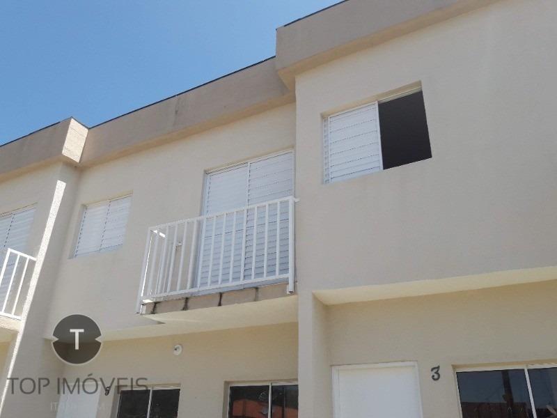 sobrado 2 dormitórios  em condomínio fechado estilo kitnet a 500 metros da praia, - ca00207 - 33714396
