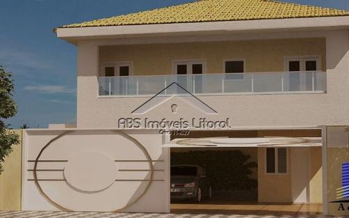 sobrado 2 dormitórios na vila caiçara praia grande - sp