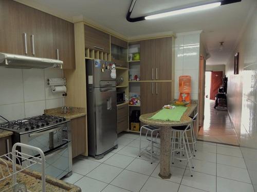 sobrado 3 dormitórios 1 suíte 2 vagas churrasqueira ref 2201