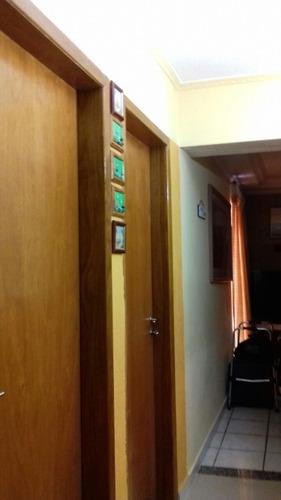 sobrado 3 dormitórios, 2 vagas. permuta apartamento menor