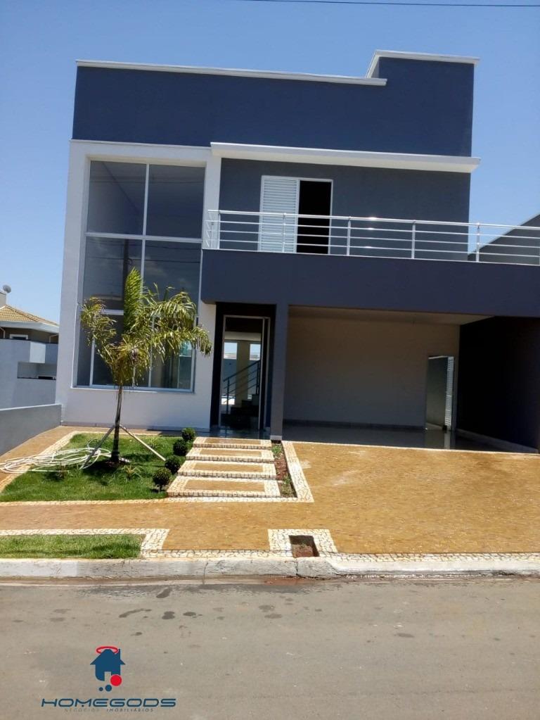 sobrado - 3 dormitórios - condomínio golden park - hortolândia - ca00334 - 33544013