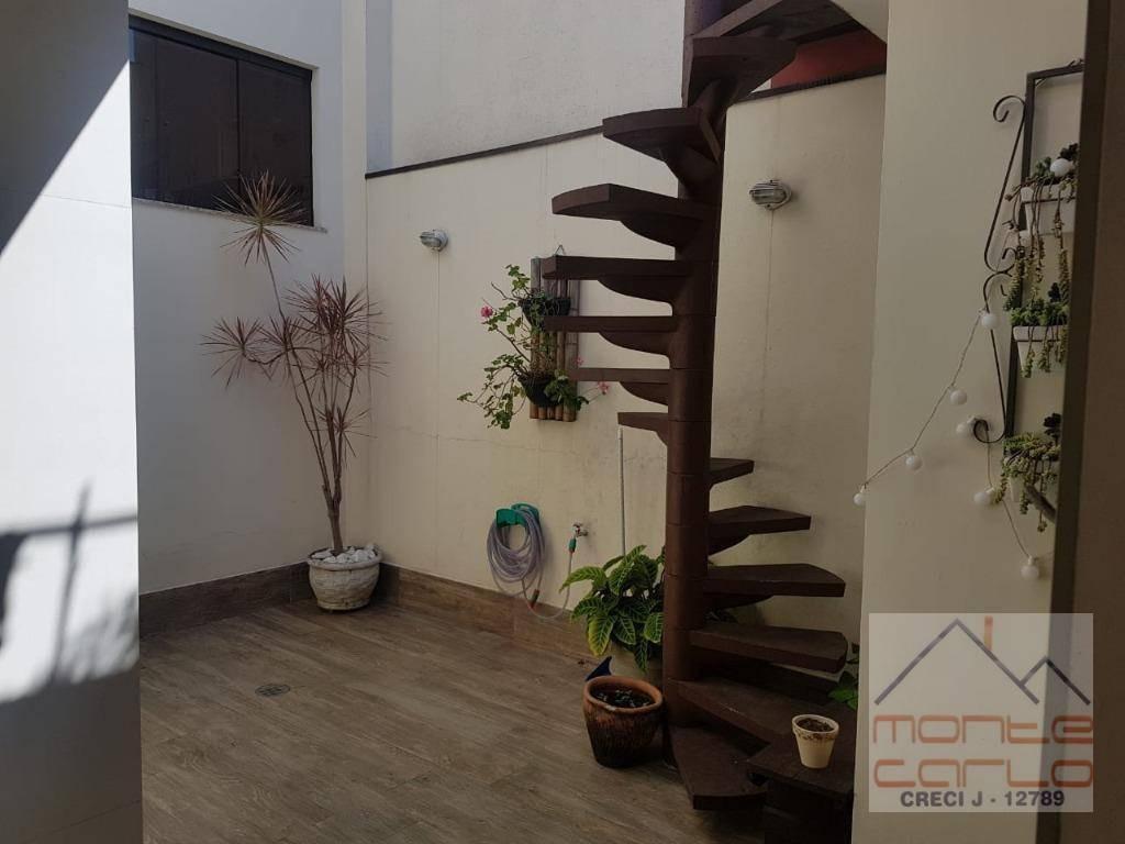 sobrado 3 dormitórios para alugar ou vender, 248 m² por r$ 2.900/mês - jardim palermo - são bernardo do campo/sp - so0329