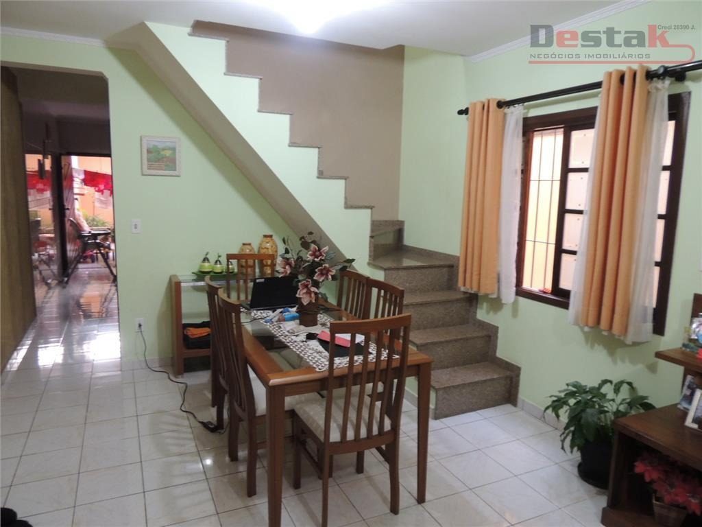 sobrado, 3 dorms, batistini, sbc. - so0448