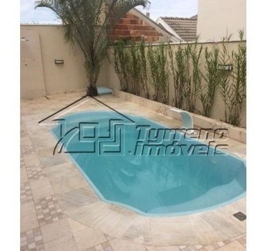 sobrado 4 dormitórios, 2 suítes, área gourmet com piscina em jacareí