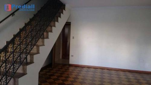 sobrado, 4 salas, depósito, 3 vagas, vila clementino - so0250