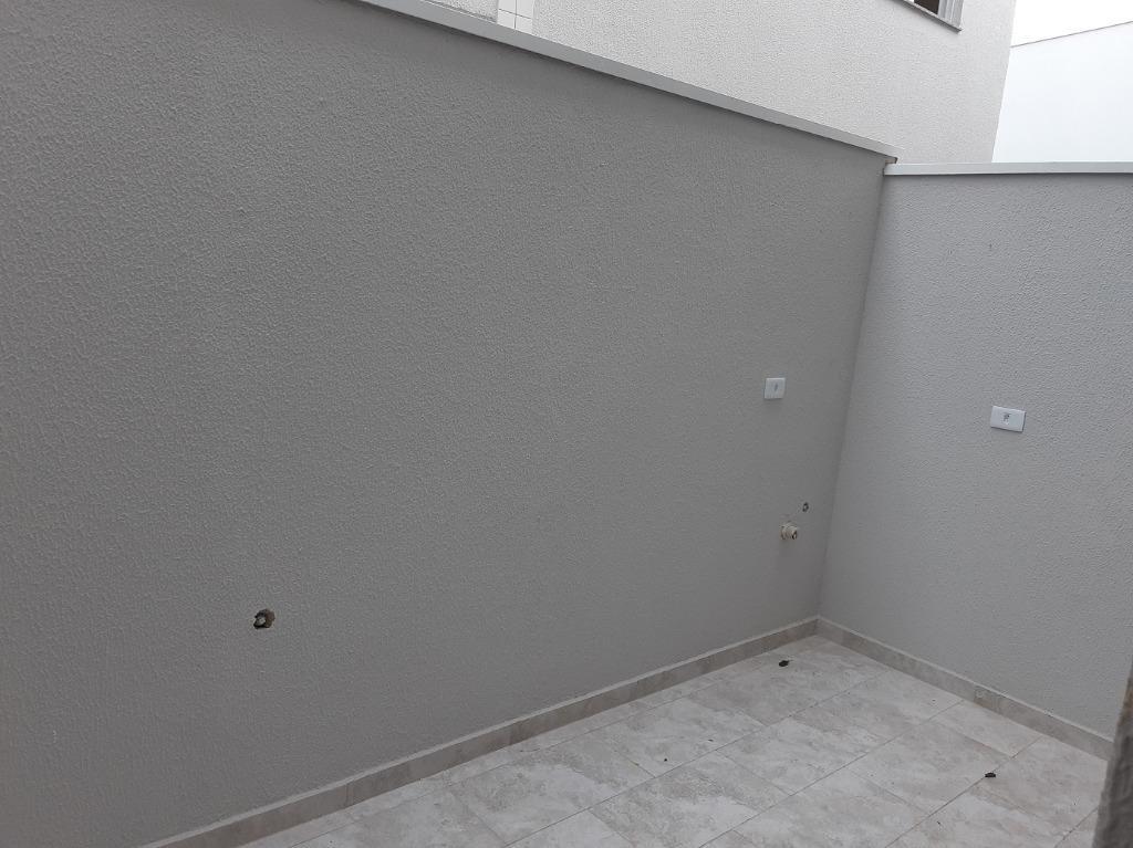 sobrado 88,50m² em condomínio fechado com 2 suítes na vila curuçá, santo andré - so0228