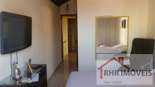 sobrado a venda em mogi das cruzes, alto do ipiranga, 3 dormitórios, 1 suíte, 3 banheiros, 3 vagas - 063