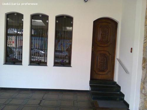 sobrado a venda em são paulo, parque são jorge ( tatuapé ), 3 dormitórios, 1 suíte, 3 banheiros, 4 vagas - 6809