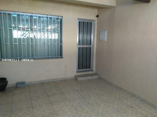 sobrado a venda em são paulo, sacomã, 3 dormitórios, 1 suíte, 4 banheiros, 1 vaga - rb 0574