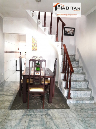 sobrado a venda no bairro vicente de carvalho em guarujá - - 1573-1