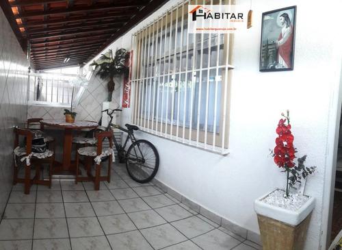 sobrado a venda no bairro vila santa rosa em guarujá - sp.  - 1433-1