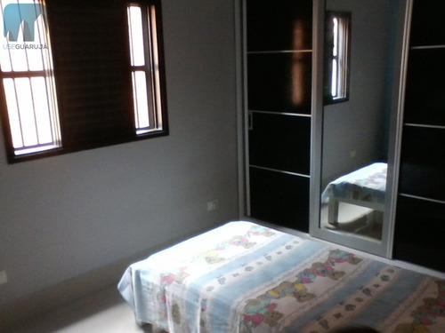 sobrado a venda no bairro vila santa rosa em guarujá - sp.  - 596-1