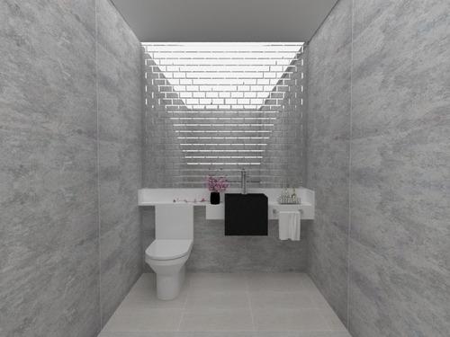 sobrado alto padrão. 3 quart. 5 banheiros, moderno/estiloso