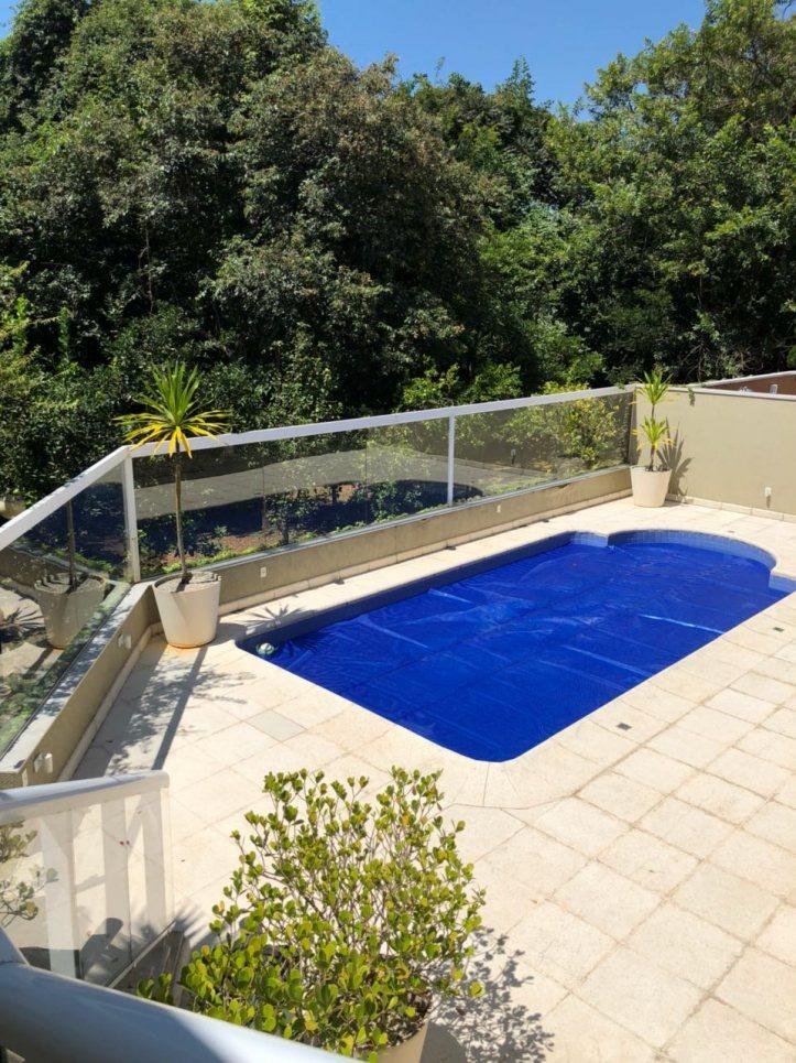 sobrado alto padrão com piscina no cond. villagio da serra - 4372