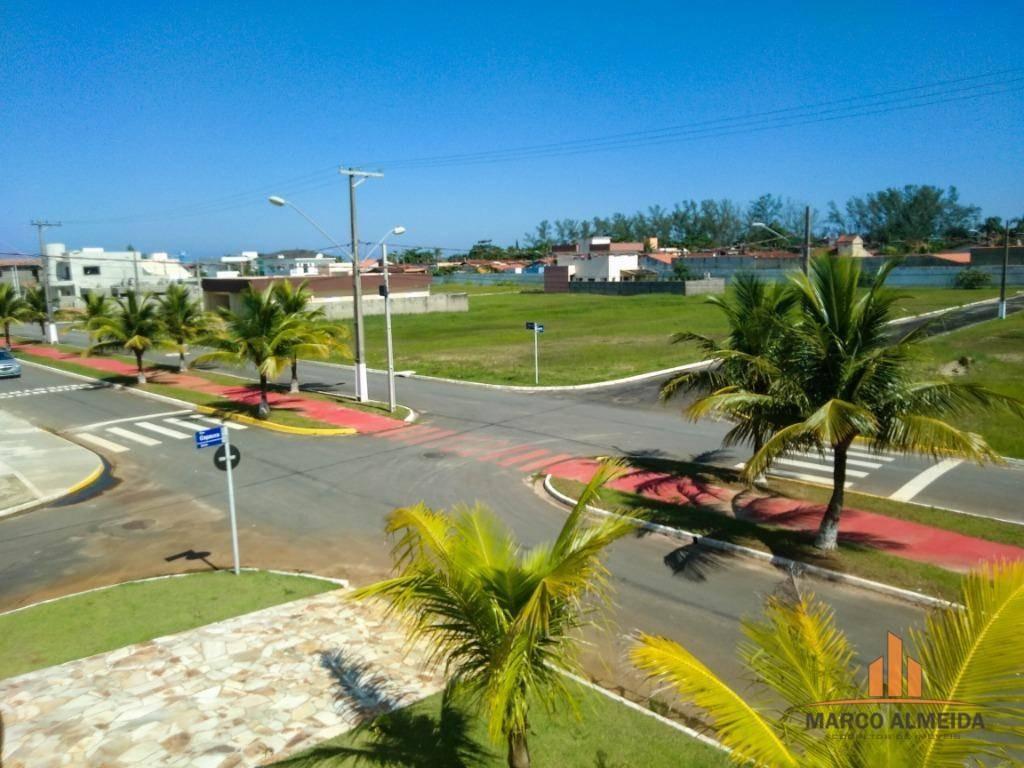 sobrado beira mar em itanhaém - condomínio fechado