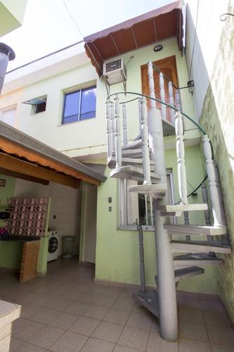 sobrado c/ 4 dormitórios, 4 banheiros, 2 vagas, portão autom
