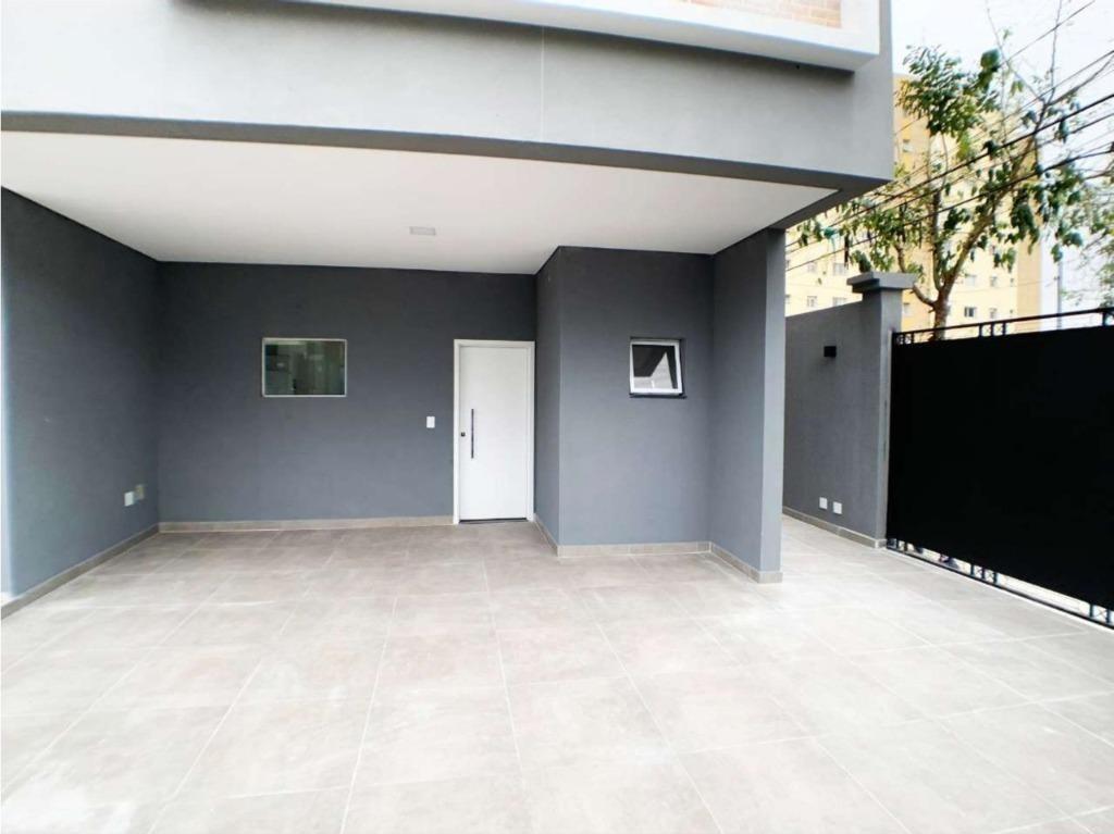 sobrado com 140 m² sendo 3 dormitórios, 1 suite e 2 vagas, lazer com churrasqueira à venda por r$ 958.000 - campestre - santo andré/sp - so0393