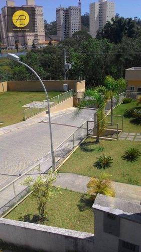 sobrado com 2 dorm. à venda, 68 m² - parque morumbi - mogi das cruzes/sp - so0117