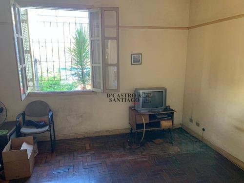 sobrado com 2 dormitórios para alugar, 100 m² por r$ 1.600/mês - mooca - são paulo/sp - so0196