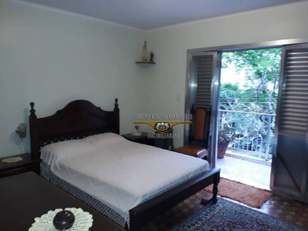 sobrado com 2 dormitórios para alugar, 196 m² por r$ 3.500,00/mês - jardim anália franco - são paulo/sp - so1282