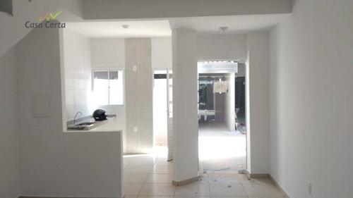 sobrado com 2 dormitórios para alugar, 50 m² por r$ 700/mês - chácara pantanal engenho velho - mogi guaçu/sp - so0105