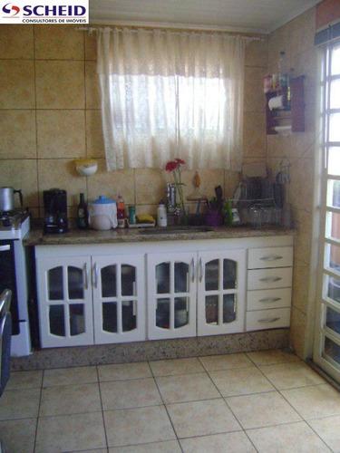 sobrado com 2 dormitórios, sala ampla, copa, cozinha, salão, 2 vagas. - mc850