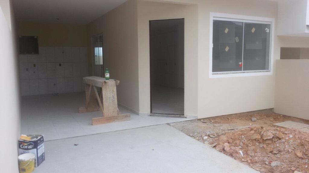 sobrado com 2 dormitórios à venda, 102 m² por r$ 180.000 - potecas - são josé/sc - so0175