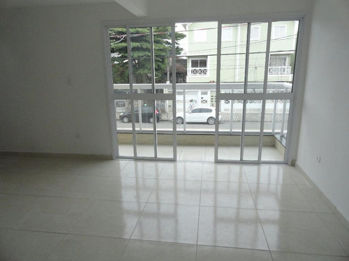 sobrado com 2 dormitórios à venda, 108 m² por r$ 540.000,00 - aparecida - santos/sp - so0336