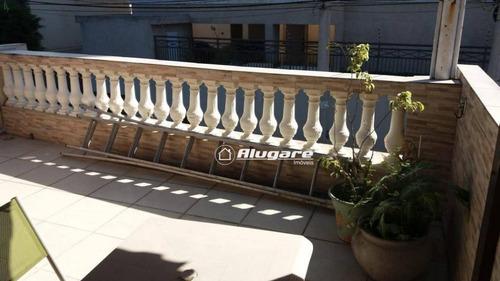 sobrado com 2 dormitórios à venda, 110 m² por r$ 380.000 - jardim terezópolis - guarulhos/sp - so0537