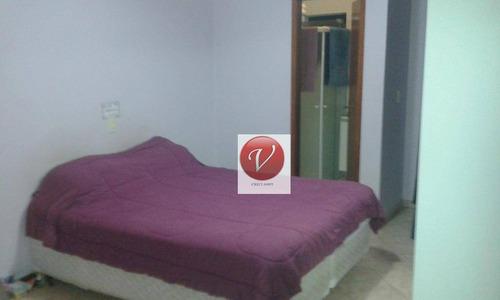 sobrado com 2 dormitórios à venda, 111 m² por r$ 420.000 - jardim santo antônio - santo andré/sp - so0565