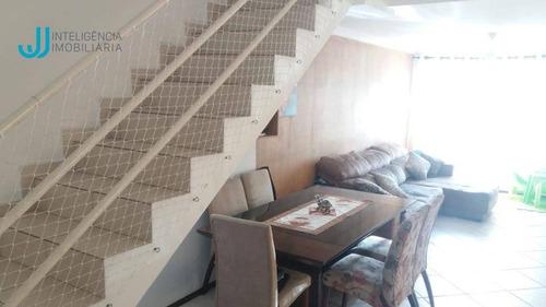 sobrado com 2 dormitórios à venda, 117 m² por r$ 405.000 - vila caputera - mogi das cruzes/sp - so0141