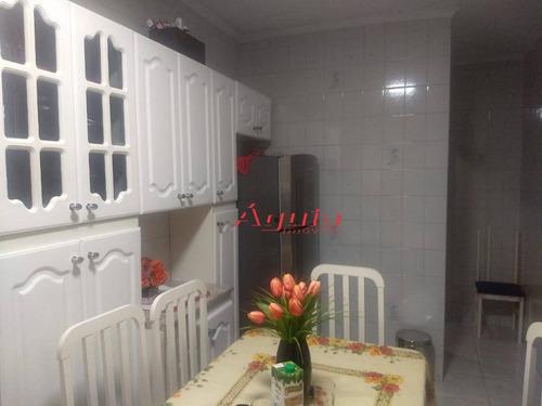 sobrado com 2 dormitórios à venda, 120 m² por r$ 299.000 - jardim utinga - santo andré/sp - so0969
