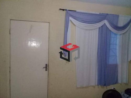 sobrado com 2 dormitórios à venda, 140 m² por r$ 270.000 - cooperativa - são bernardo do campo/sp - so22777